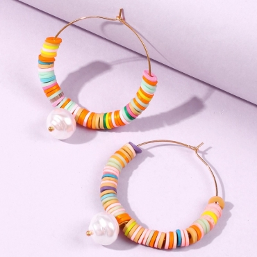 lovely Bohemian Hollow-out Multicolor Earring