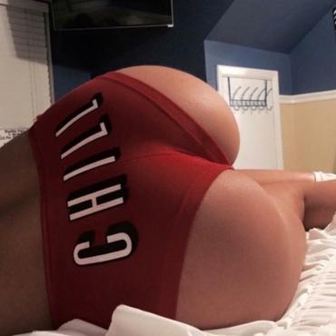 lovely Sportswear Letter Red Shorts