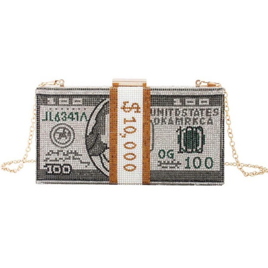 Messenger Bag&Crossbody Bag Lovely Stylish Chain Strap Black Crossbody Bag фото