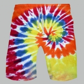 Lovely Bohemian Tie-dye Jacinth Shorts