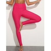 lovely Sportswear High-waisted Skinny Rose Red Pan