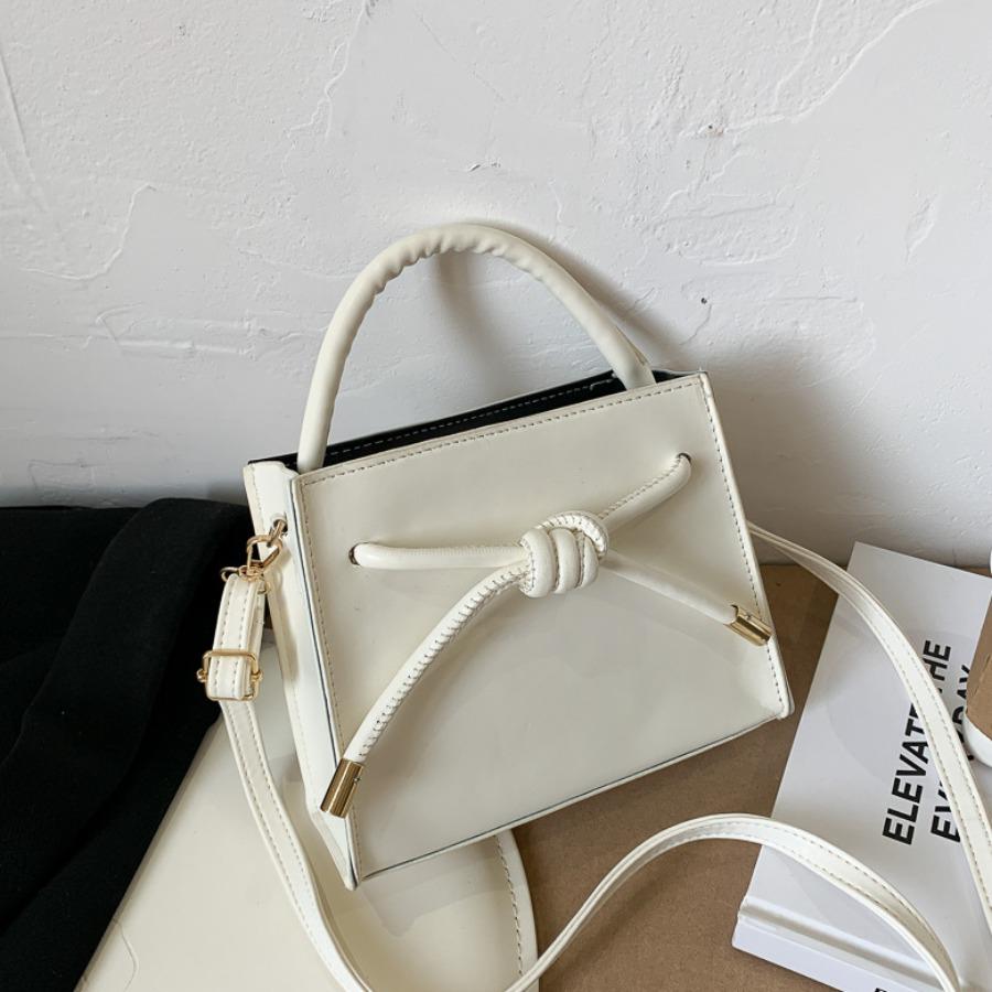 Messenger Bag&Crossbody Bag lovely Retro Knot Design White Crossbody Bag фото