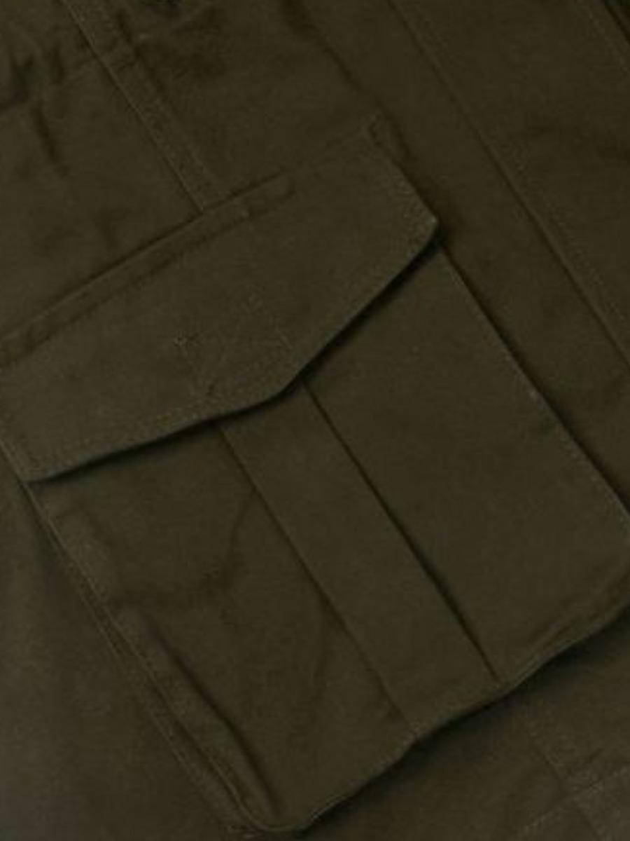 lovely Casual Hooded Collar Zipper Design Green Jacket