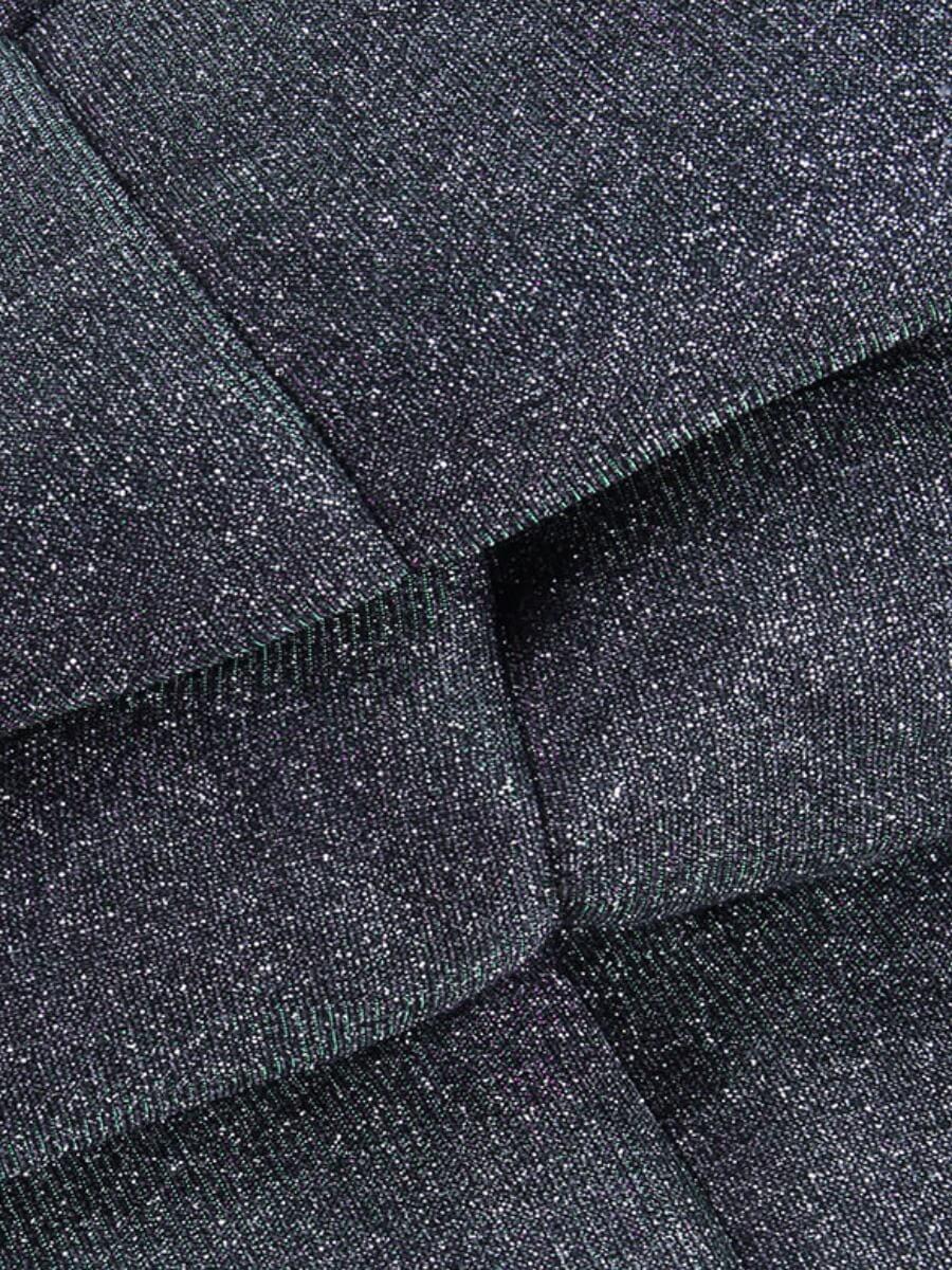 Lovely Stylish Hooded Collar Zipper Design Black Parka
