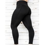 Lovely Sportswear Basic Skinny Black Leggings