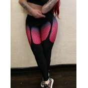lovely Sportswear Gradient Skinny Multicolor Leggi