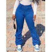 Lovely Stylish Heap Blue Pants