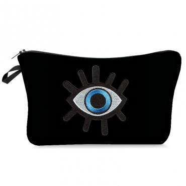 Lovely Chic Eye Black Makeup Bag