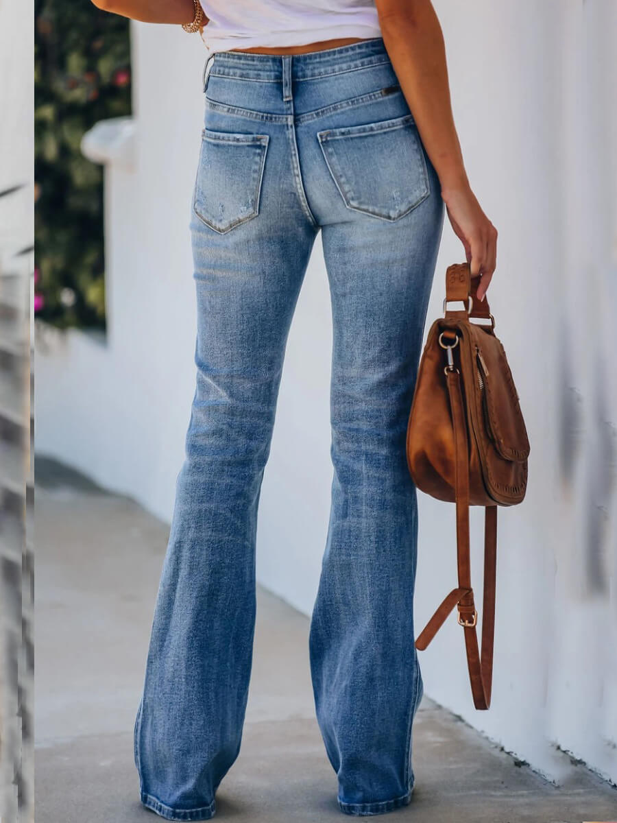 LW Casual Basic Blue Jeans