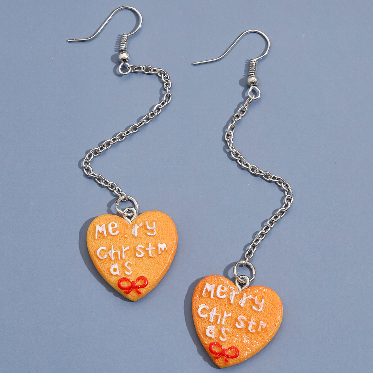 Lovely Trendy Heart Yellow Earring