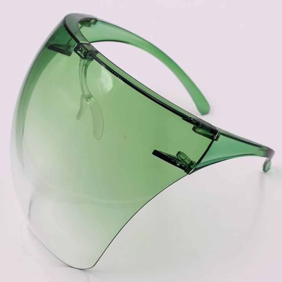 LW Chic Gradient Green Sunglasses