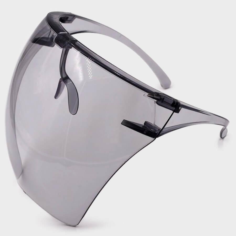 LW Chic See-through Carbon Black Sunglasses