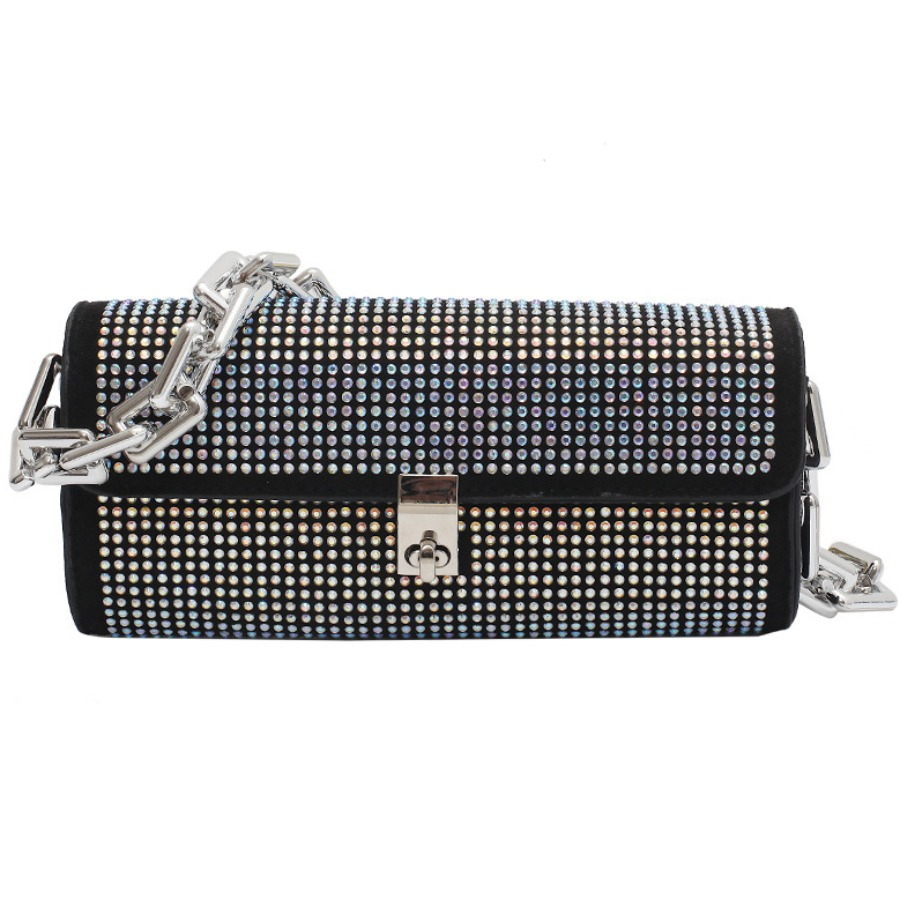 Lovely Casual Sequined Chain Decoration Multicolor Crossbody Bag