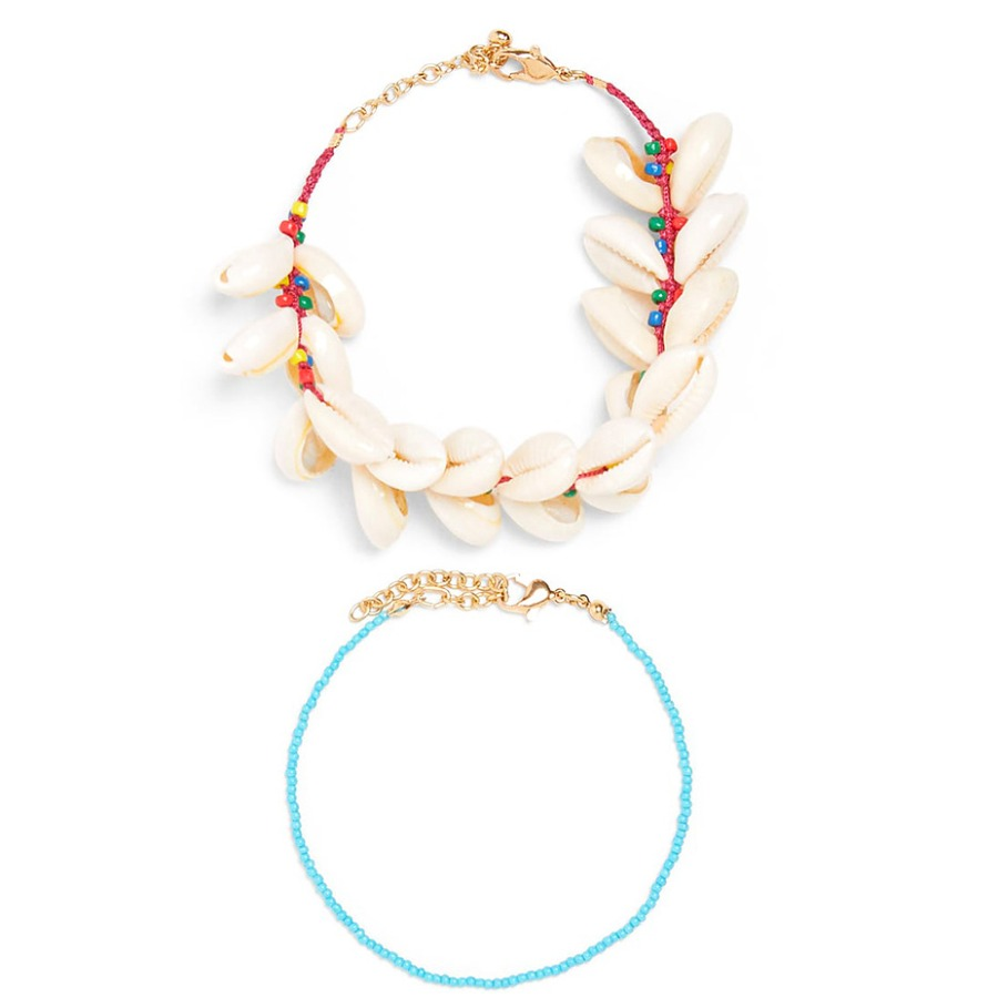 LW Boho Sea Bead Multicolor Body Chain