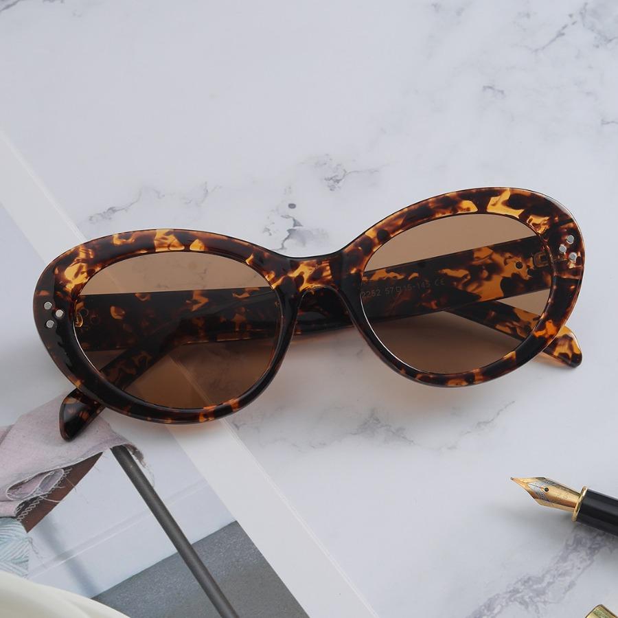Lovely Oval Frame Sunglasses