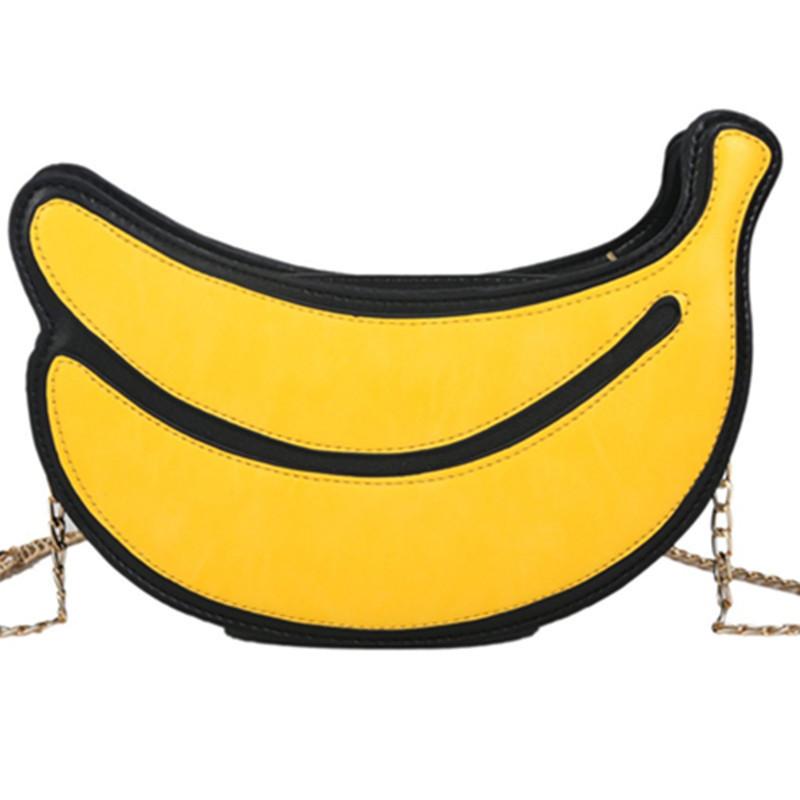 LW Banana-shaped Crossbody Bag