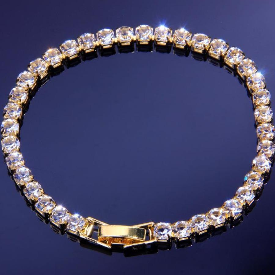 Lovely Men Crystal Bracelet