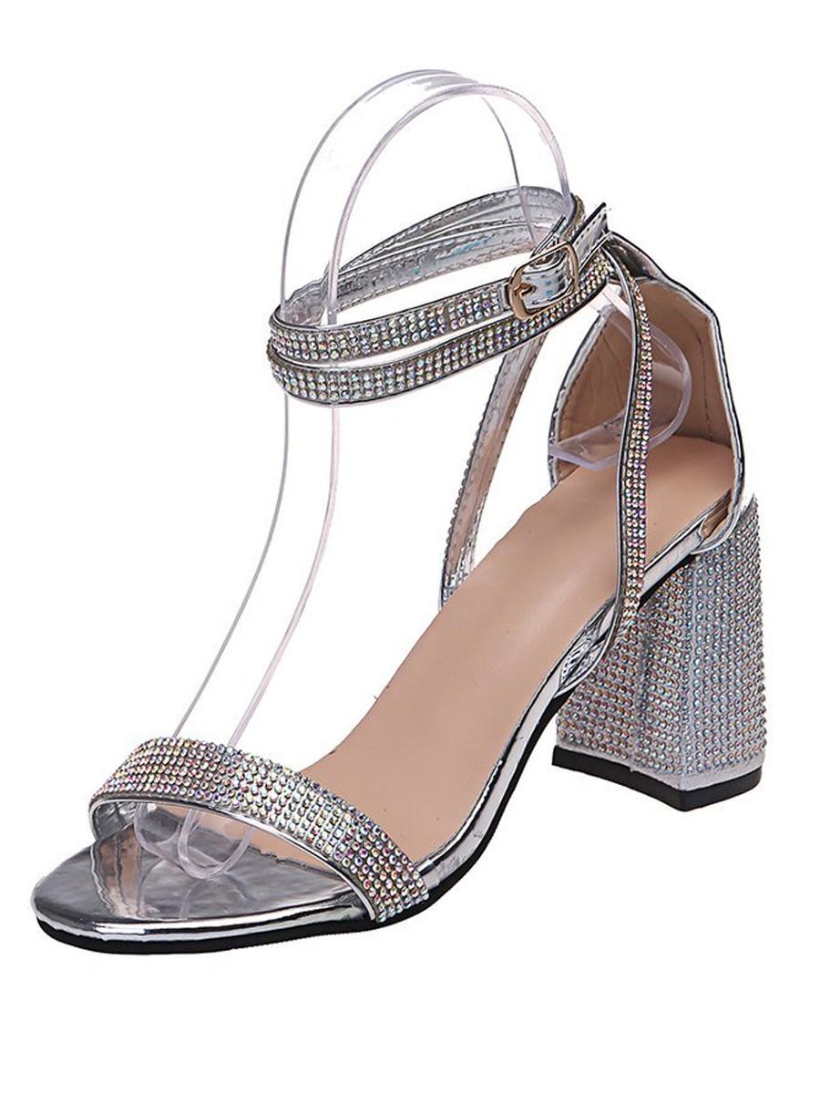LW SXY Crystal Strappy Heels