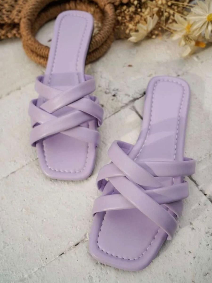 LW BASICS Criss Cross Slippers