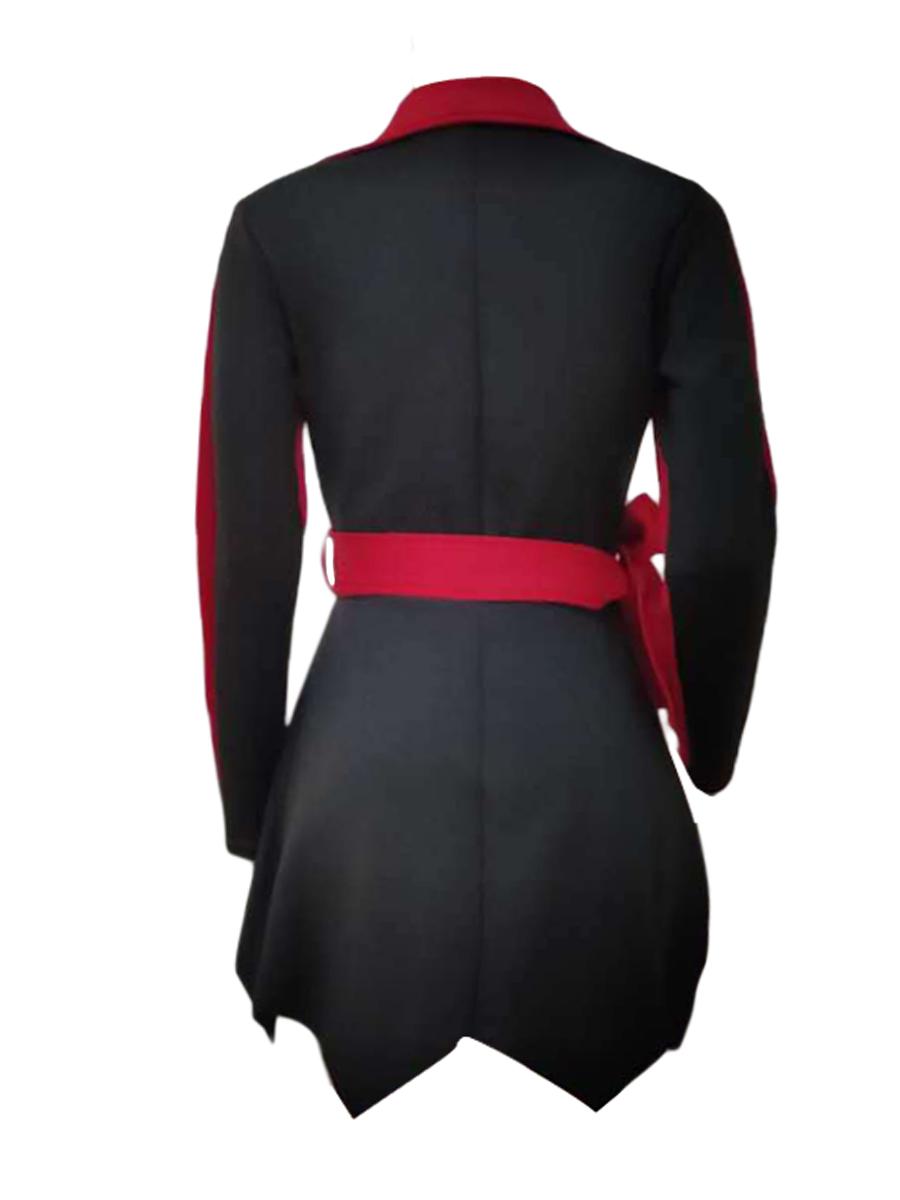 LW Plus Size Patchwork Fold Design Dress (Without Belt)